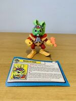 Vintage Hasbro Bucky O'hare Figure Complete Captain Bucky With Profile Card