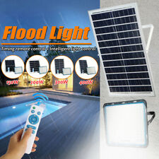 150/200/300/400W Solar Power PIR Motion Sensor Light Garden Security Flood Lamp