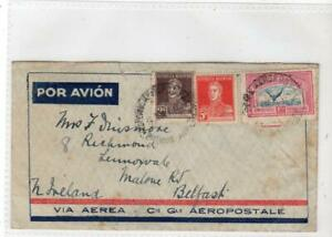 ARGENTINA: 1934 Air Mail cover to Northern Ireland (C65140)