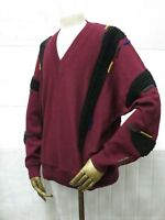 Carlo Colucci Winter Herren Pullover Strick 90er True VINTAGE 90s men's jumper