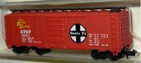 N SCALE TRAINS MODEL POWER ATSF BOX CAR