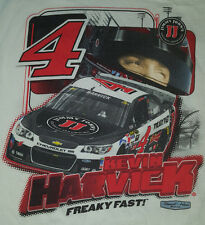 Keven Harvick Medium T Shirt 2015 Freaky Fast White