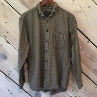 Sir Pendleton Men's Size Medium 100% Wool Multicolored Plaid Button-Down Shirt
