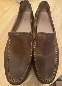 frye shoes men 12 brown leather