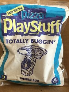 Pizza Hut Kids Toy, Pizza Play, Totally Buffon', Whirling Bug Toy