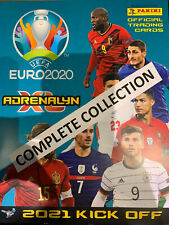 COMPLETE COLLECTION 405 Cards - Euro 2020 Kick Off Panini Adrenalyn XL