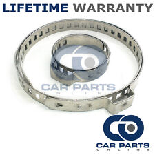 CAR ATV FITS 99% OF VEHICLES CV BOOT STAINLESS STEEL CLAMPS PAIR