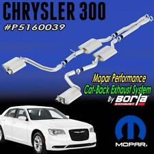 NEW Chrysler 300C 5.7L Mopar Borla Cat-Back Performance Exhaust System P5160039