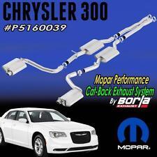 NEW Chrysler 300C 5.7L Mopar Borla Cat-Back Exhaust System P5160039