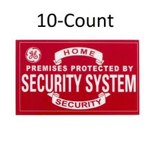 GE 1.8-in x 3-in Home Security Window Decals 10-Count