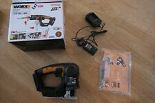 WORX 20V AXIS 2-in-1 Reciprocating Saw and Jigsaw with Orbital Mode (W/ Charger)