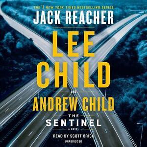 Lee Child SENTINEL (Jack Reacher) Unabridged CD *NEW* FAST Ship!
