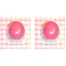 EOS Smooth Sphere Lip Balm -Strawbery Sorbet Duo (0.25 oz. x 2)