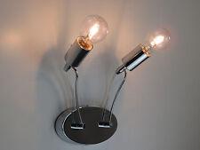 lampada da parete applique moderno cromato salone cucina bagno camera da letto