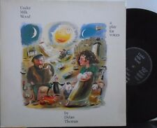 UNDER MILK WOOD A PLAY FOR VOICES by DYLAN THOMAS ~ GF 2 x VINYL LP & BOOKLET