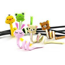 1Pcs Cute Disney Cartoon Style Cable Tie Cord Organizer Earphone Wrap Winder