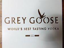 Grey Goose Custom Stencil FAST FREE SHIPPING Grey Goose vodka