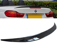 BMW 4 series F33 F83 M performance style rear boot lip spoiler wing gloss black