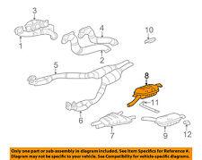 BMW OEM 1995 740iL 4.0L-V8-Muffler 18121742962