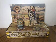 DALE EVANS WATCH Bradley* COMPLETE IN BOX *   BEAUTIFUL DISPLAY  #186 !!!