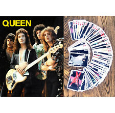 Playing Cards (Poker Deck 54 Cards) QUEEN Vintage Music Poster FlonzGift 005