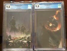 Dark Nights Metal #4&5 Mattina CGC 9.8 Variants