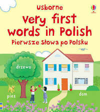 Very First Words in Polish by Felicity Brooks,Jo Litchfield