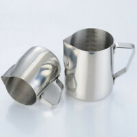 Milk Frothing Pitcher, Stainless Steel Creamer Frothing Pitcher 350/600ml