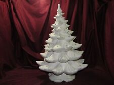 Ceramic Bisque U-Paint Atlantic Christmas Tree 2 Rings Ready to Paint Unpainted