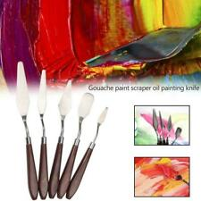 5Pcs Stainless Palette Knife Scraper Spatula for Artist Oil Painting Knife