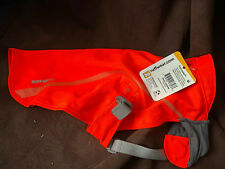 Ruffwear Track Jacket Blaze Orange High Visibility Safety S/M Dog Coat Gear