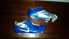 Men's NIKE TOTAL90 SHIFT ENGLAND lions football boots metal studs cleats size 9