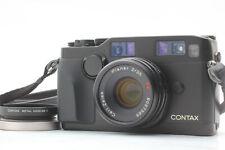 【EXC+5】 Contax G2 Black 35mm Rangefinder w/ Planar T* 35mm F2 LENS From JAPAN