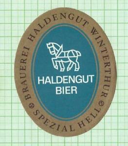 SWITZERLAND Haldengut Brauerei HaldenGut horse beer label B090 030