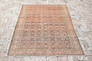 Turkish Rug 59''x84'' Bunyan Carpet Vintage 152x215cm Oriental Decor Rug 4x7