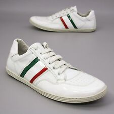 Retro EXÒ Size 43 (about 10) Tennis Training Running Sneakers Low Leather Italy
