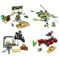 Military Base Fortress Special Forces Building Blocks Bricks Sets Model Toys