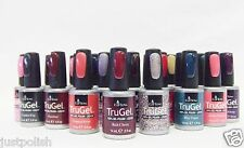 EzFlow Nail Soak Off Gel Polish LED/UV TruGel 12 Colors your choice .5oz/15ml