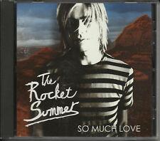 The ROCKET SUMMER So Much Love RARE PROMO DJ CD Single