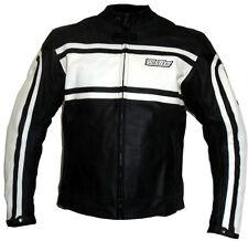 Biker moto chaqueta cazadora moto cuero L XL XXL 3XL 4XL 5 48 50 52 54 56 58