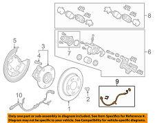 Acura 01468-TK4-A00 Disc Brake Hydraulic Hose