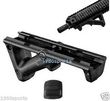 Black Angled Hand Guard Foregrip Fore Grip for 20mm Picatinny Quad Rail #N13