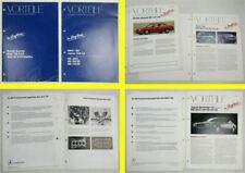 2 Produktinformationen Mercedes Benz 300E 300SE 420SE 190E im Vergleich 1987/89