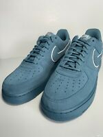 Nike Air Force 1 07 LV8 Men's Size 8 Suede Shoes Aqua AA117 400