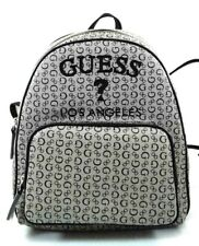 New Guess Millington Black Backpack Purse Bag Handbag