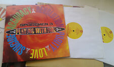Spacemen 3 Playing With Fire Hand Signed Autographed Record LP PSA/JSA Guarantee