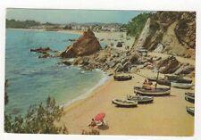 Costa Brava Lloret De Mar La Caleta Postcard Spain 557a