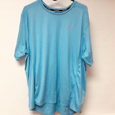 Nike Dri-Fit Running Shirt Blue Men's XXL 2XL