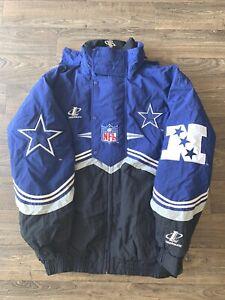 90's Dallas Cowboys - NFL Pro Line LogoAthletic - Winter Coat - Football