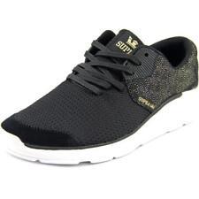 Zapatillas deportivas de mujer de color principal negro de piel talla 38.5
